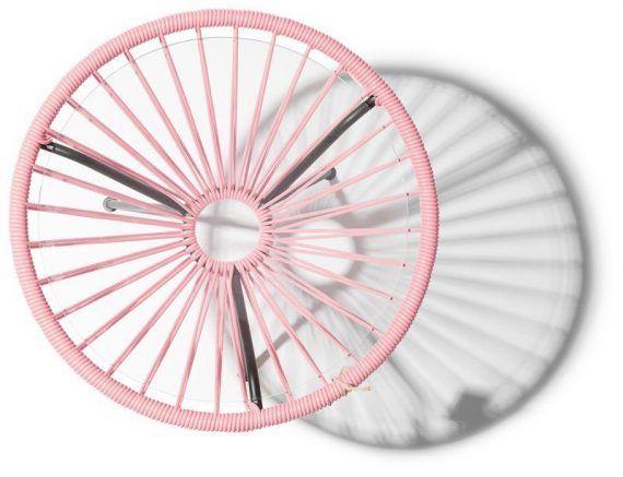 Table jap n salmon pink for Table design japon
