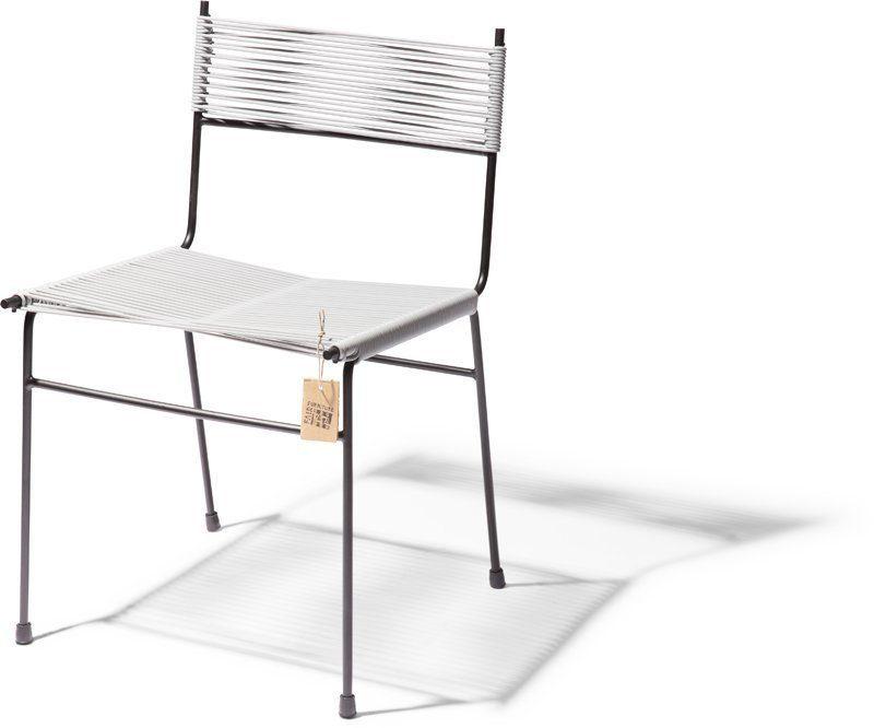 Polanco stoel lichtgrijs