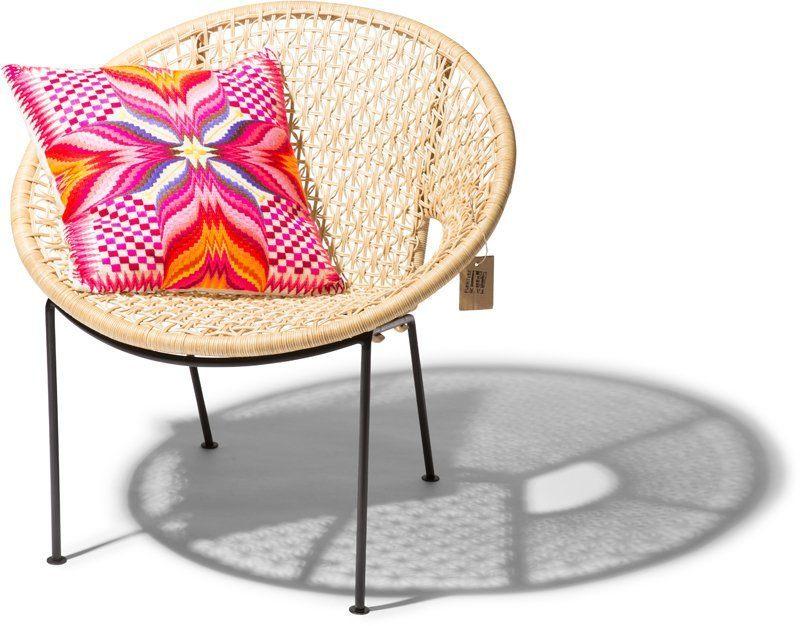 Ubud chair flower with Dilvan cushion