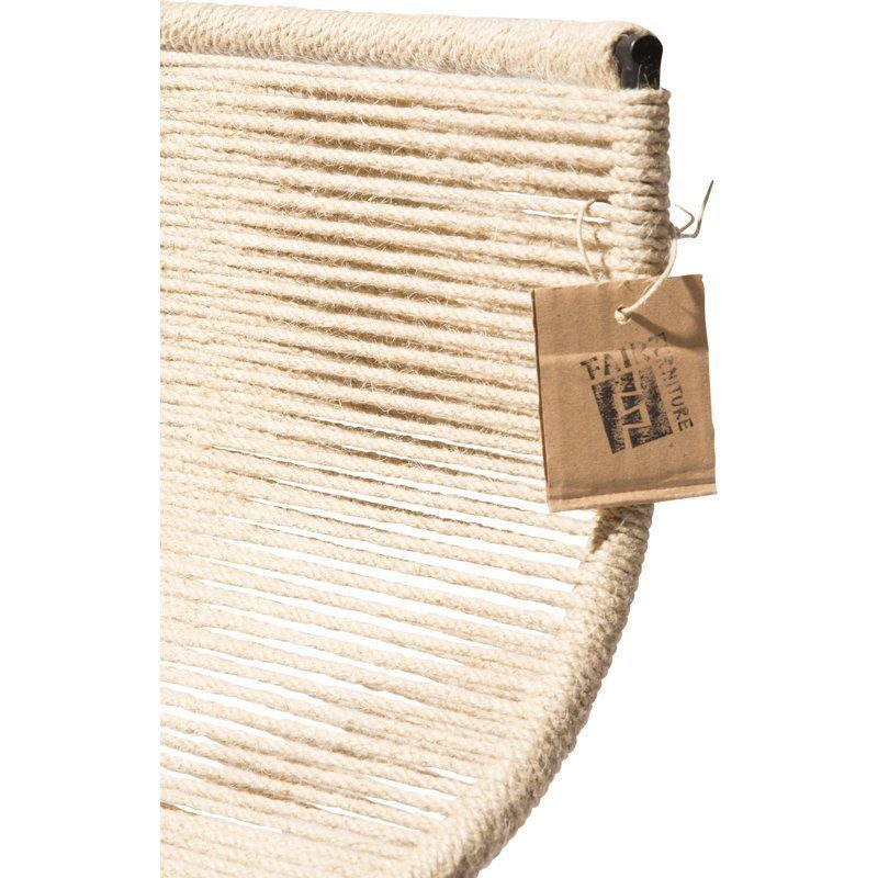 Zicatela barkruk henneptouw detail