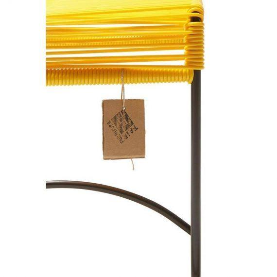 Stool Xalapa – geel detail