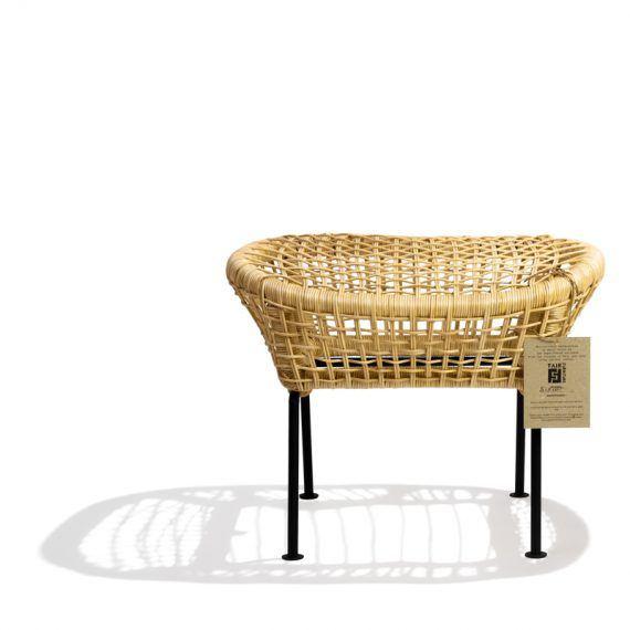 Ubud footstool Fair Furniture