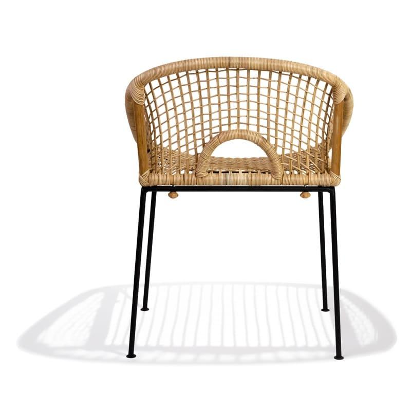 Handmade Ubud Dining chair - rattan - Fairfurniture.com