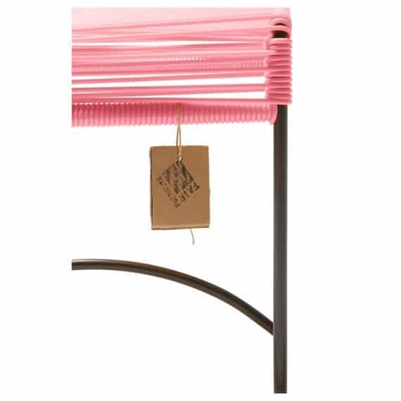 Stool Xalapa – roze detail