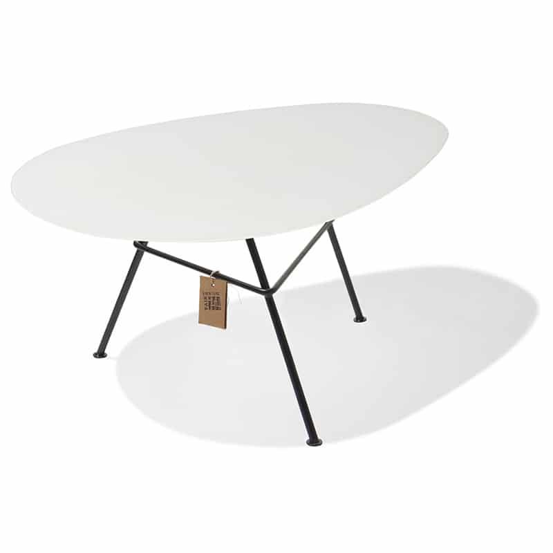 Tavolo zahora vetro bianco for Tavolo vetro bianco